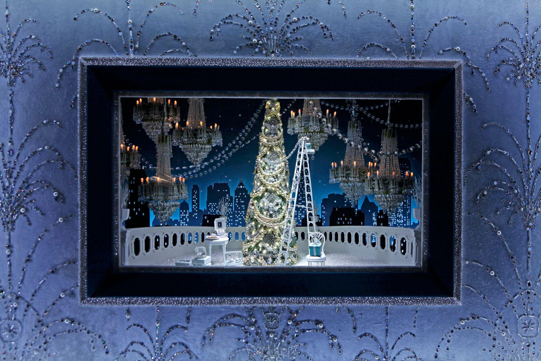 Tiffany & Company, Fifth Avenue, New York, Holiday 2016